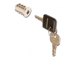 Format Zylinderkern A008 1 Schlüssel + 1 Klappschlüssel, VE=50 608886