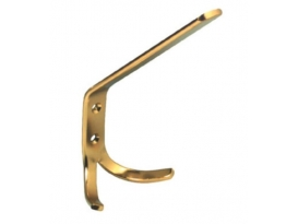 Huthaken doppelt Nr. 1276-98 Alu silber eloxiert VE=10 St.