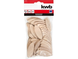 KWB Lamello l=65mm, Nut 12mmm VE=50