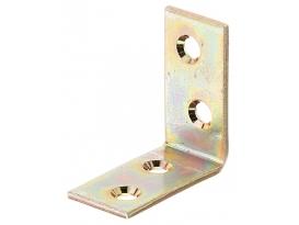 Stuhlwinkel, 40/40/20/2,5mm, gelb verzinkt