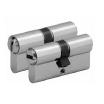 Profilzylinder 3600, 6 Stifte, 50/55 mm, Mmv., 3 Schlüssel