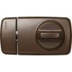 Tür-Zusatzschloß 7010 B/SB braun