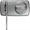 Tür-Zusatzschloß mit Sperrbügel 7030 S/SB silber
