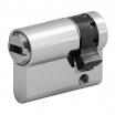 Profilhalbzylinder 3610, 6 Sti 50/10 mm, Mmv., 3 Schlüssel