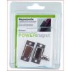 Powermagnet Profil mit eingelegten Magneten 20x10x3mm inkl. Schrauben
