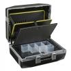 Raaco Werkzeugkoffer Premium XLT79 Toolcase Kofferschale Polycarbonat,2 Zylinderschl,Alurahmen Rollen,Griff,HxBxT: 410x485x250mm, Farbe Schwarz