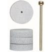 Proxxon Spezial-Polierscheiben, 22 mm VE = 4 Stück + 1 Träger