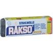 Rakso Stahlwolle, Nr. 0000, sehr fein, 200-g-Pack. zum Schleifen, Polieren, Reinigen, für Holz, Metall, Kunststoff, Glas, Stein