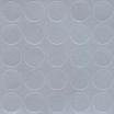 Folmag selbstklebende Abdeckkappen 14mm Nr. 978 Aluminium 25St./Blatt, 1 VE = 50 Blätter