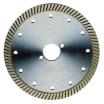 Diamant-Trennscheibe für BePo mit 2 Längs-Nebenlöchern 170x258 mm Segmentiert
