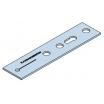 Fenstermontageanker EL Flachstahl, 150x2,5mm-F, VE=50 Stück
