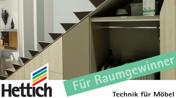 Embedded thumbnail for Die Treppe als Stauraumwunder