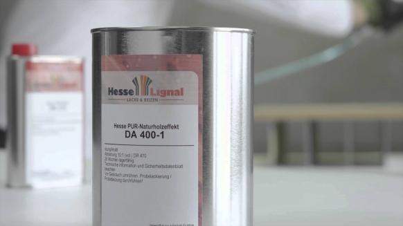 Embedded thumbnail for Hesse-Lignal Naturholzeffektlack