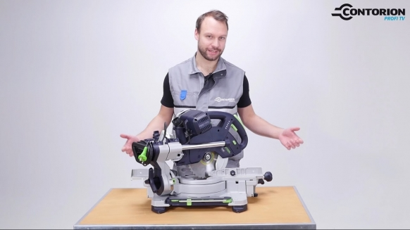 Embedded thumbnail for Festool Kapp-Zugsäge KAPEX KS 60